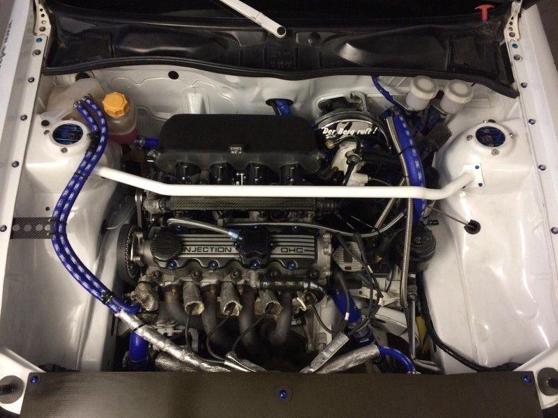 Komplett neuer Rennmotor seit Frühling 2019